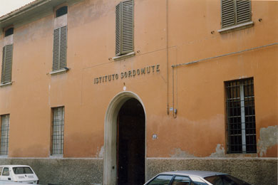 Istituto Sordomute Ranuzzi di via Briani