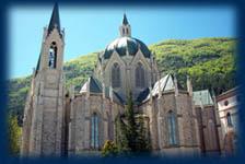 Santuario dell'Addolorata, la nuova costruzione
