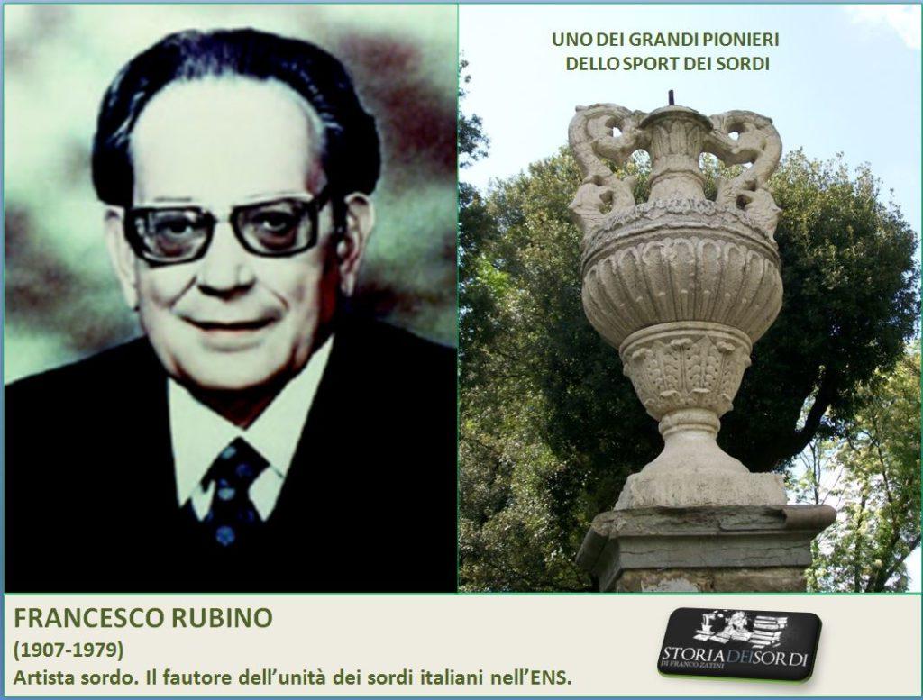 Francesco Rubino 1907 - 1979 storia dei sordi