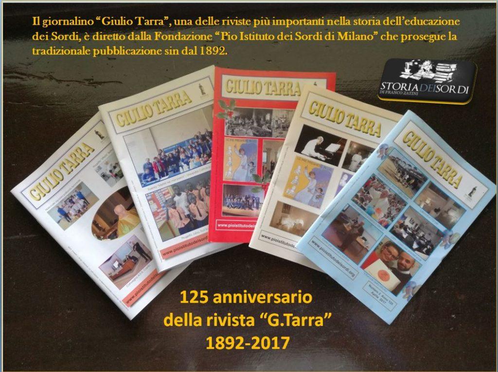 Giulio Tarra 125 anni