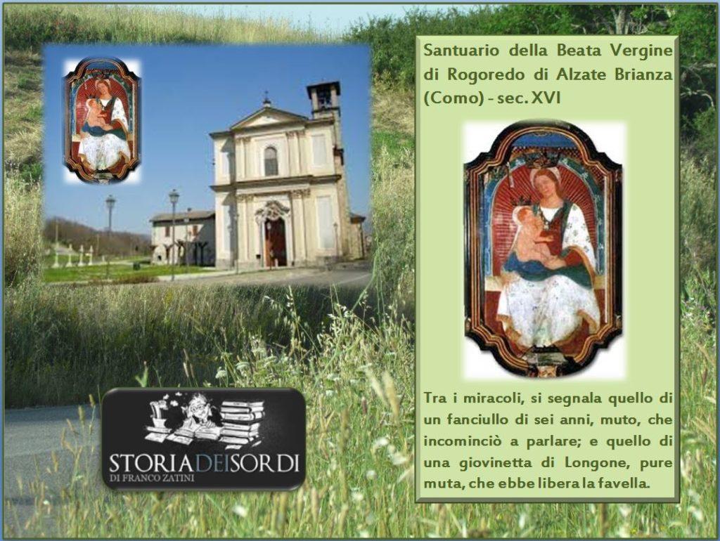 Santuario della Madonna di Rogoredo di Alzate Brianza Como