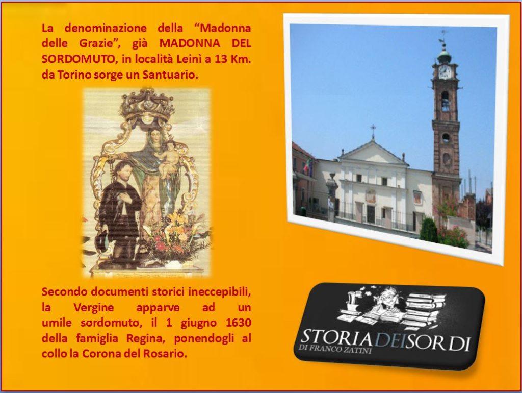 Madonna del Sordomuto di Leinì