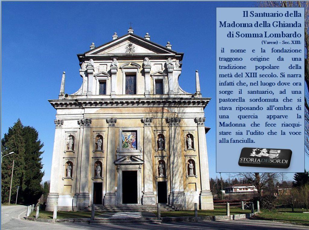 Santuario Madonna della Ghianda di Somma Lombardo