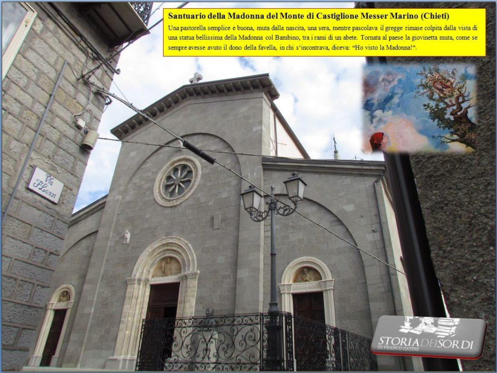 Santuario della Madonna del Monte di Castiglione Messer Marino