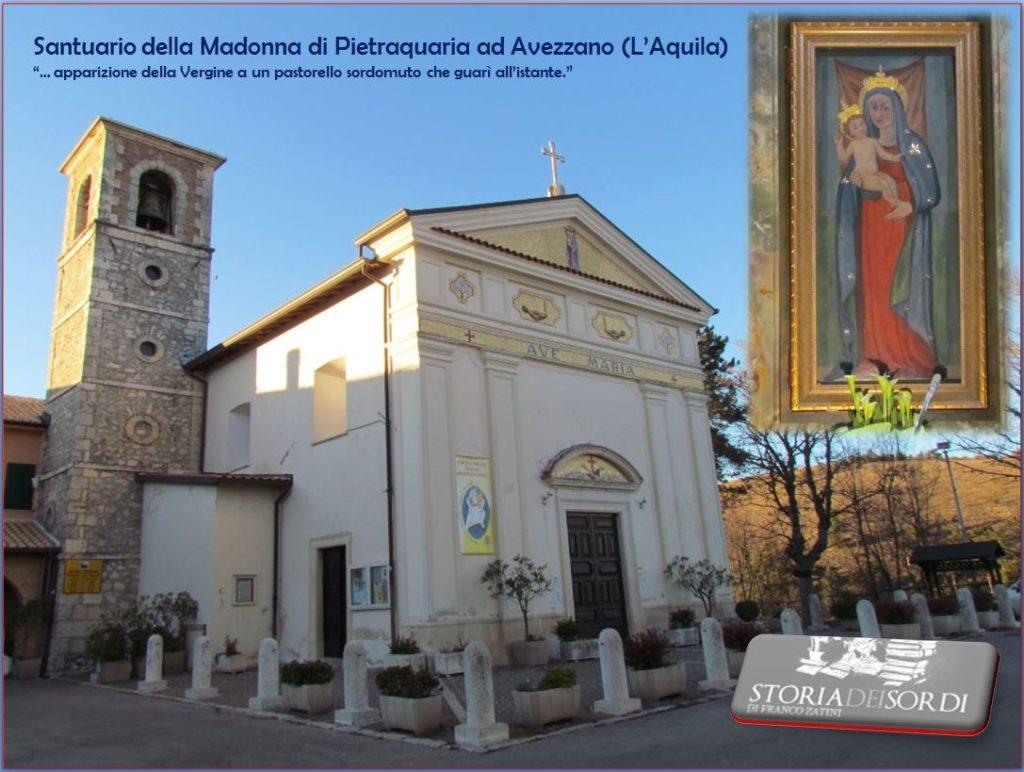 Santuario della Madonna di Pietracquaria ad Avezzano (L'Aquila)