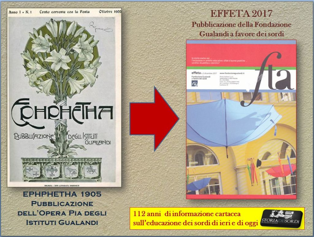 Effeta 1905 - 2017
