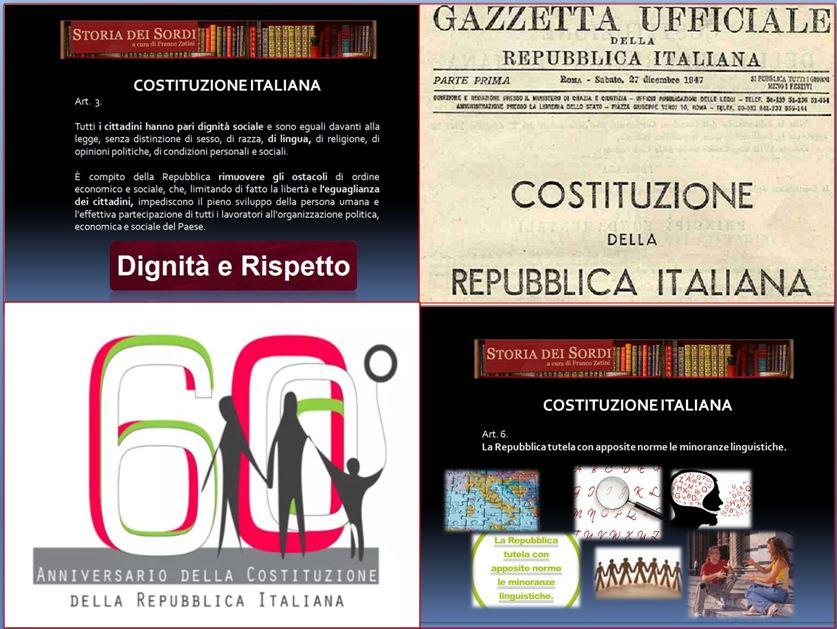 Costituzione 60 anni