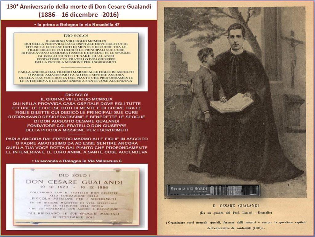 Don Cesare Gualandi lapidi