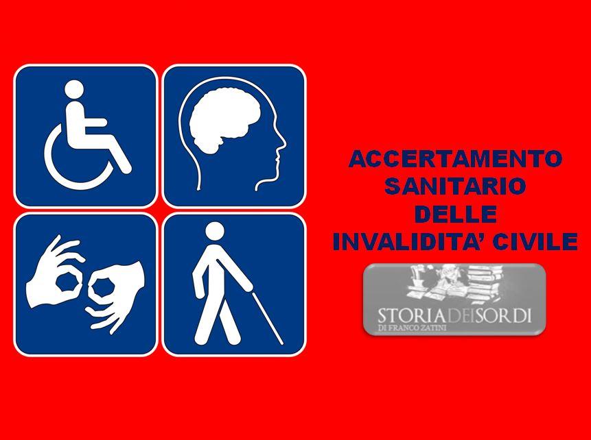 Accertamento sanitario invalidità