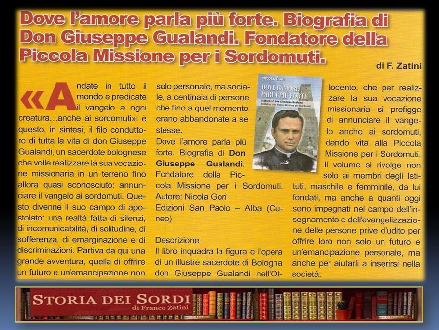 Gualandi Giuseppe Libro