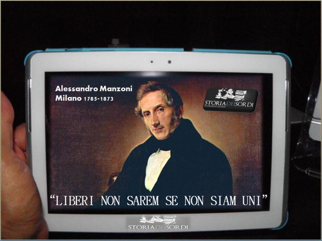 Alessandro Manzoni 1785-1873