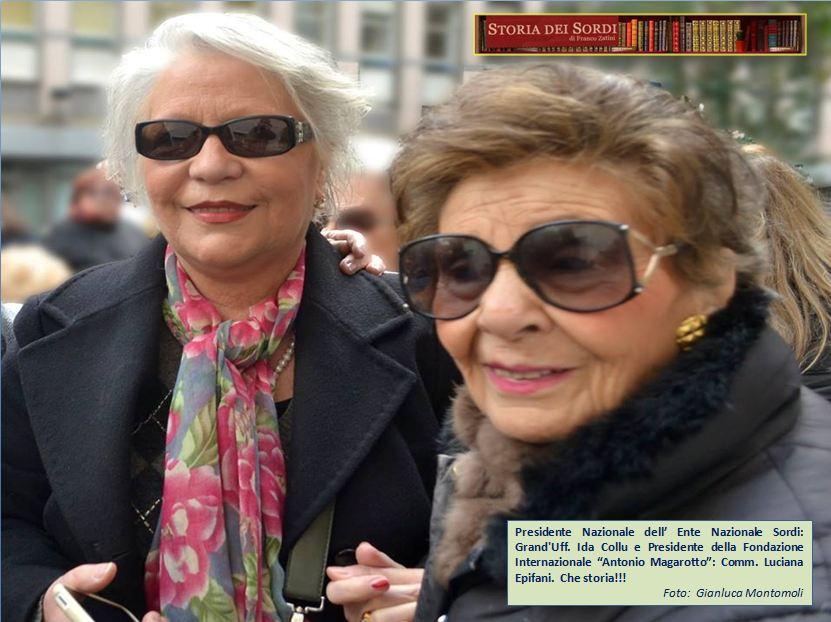 Ida Collu e Luciana Epifani