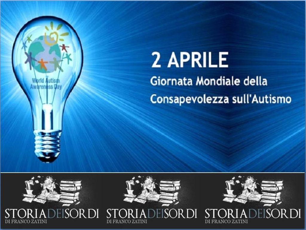 Giornata Mondiale della Consapevolezza sull'Autismo 2 aprile