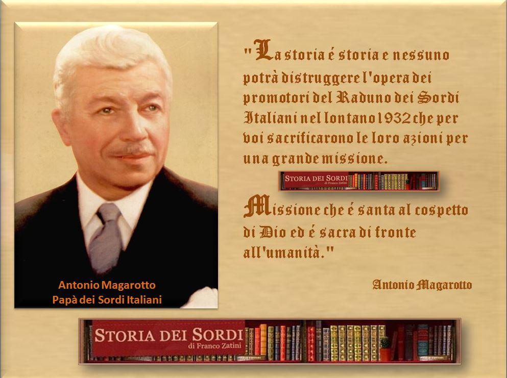 Magarotto Antonio Papà dei Sordi