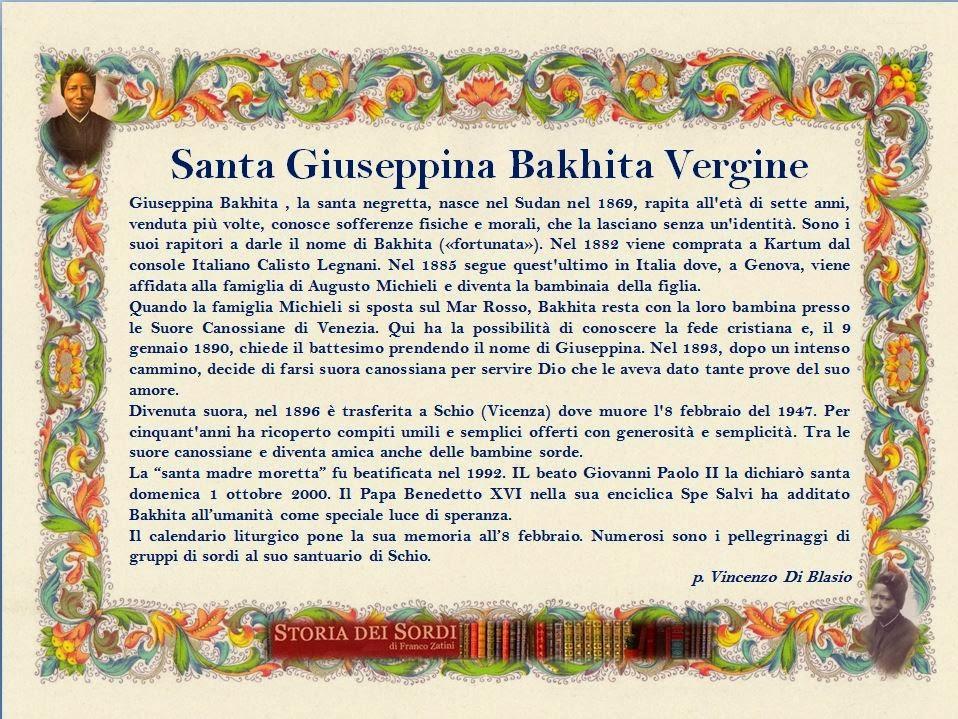 Bakhita Giuseppina