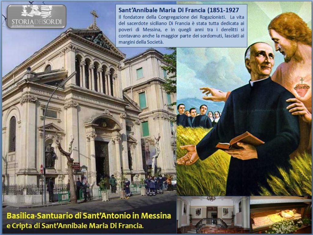 Santuario Sant'Antonio e Cripta di Sant'Annibale Maria Di Francia in Messina
