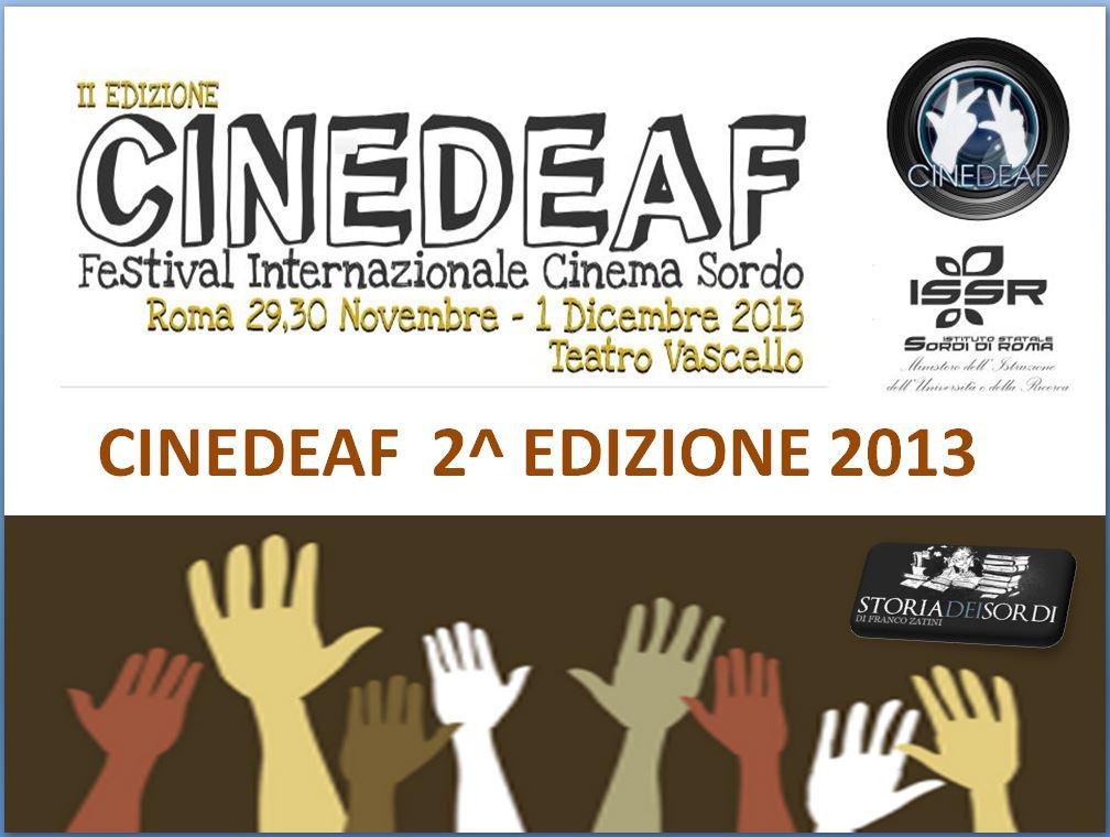 CineDeaf 2 edizione 2013