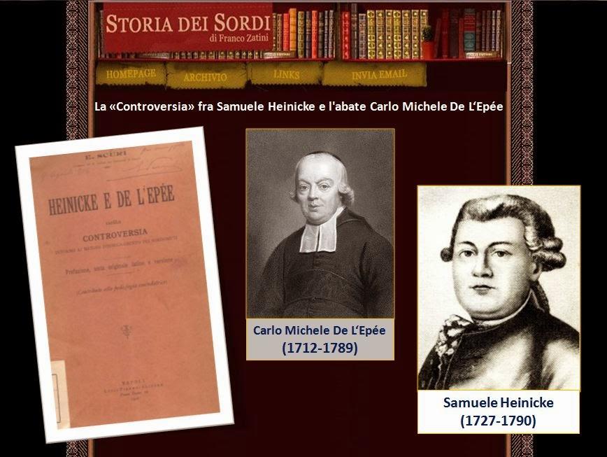 Samuele Heinicke e Carlo Michele De L'Ep_e storia dei sordi