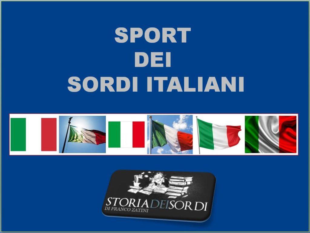 Sport dei Sordi Italiani