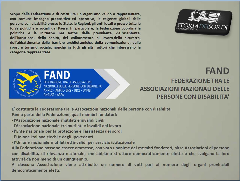 Fand disabilità