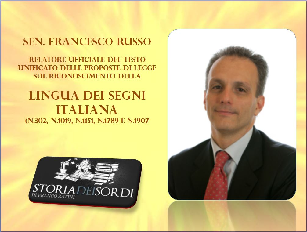 Sen. Francesco Russo