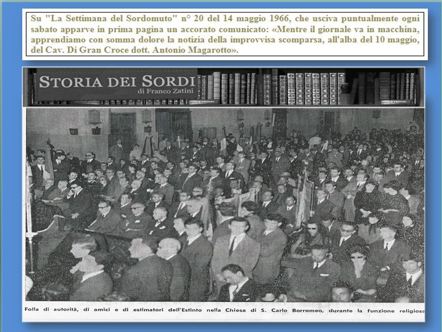 Magarotto Antonio 10 maggio 1966