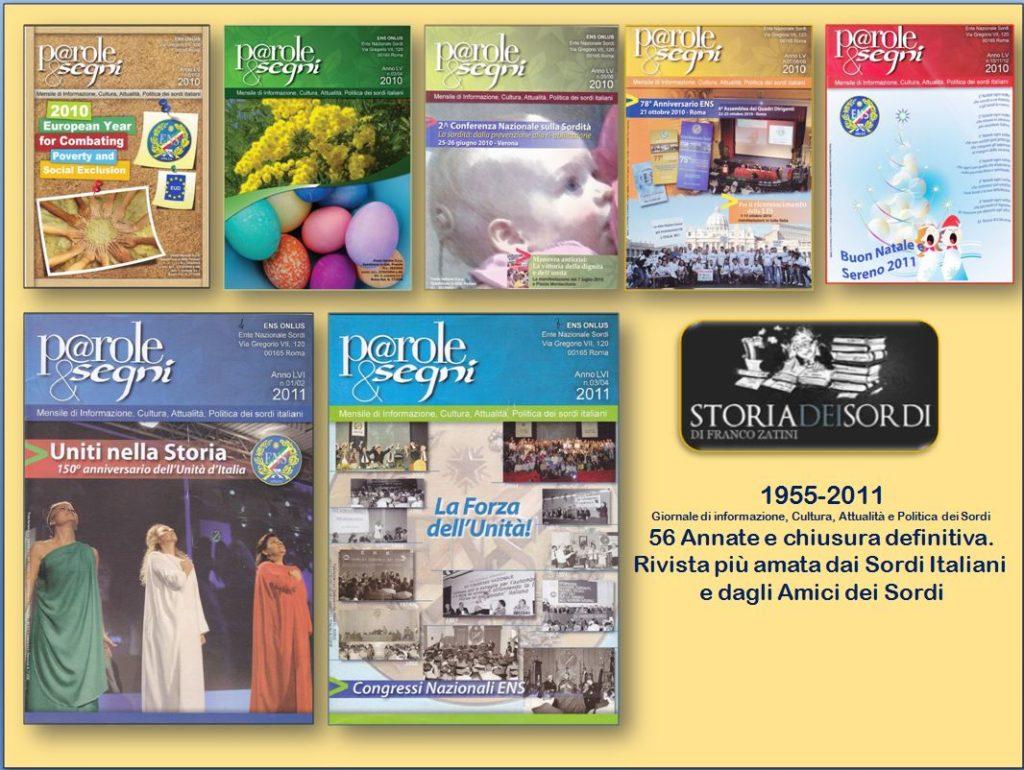 Parole & Segni 2010-2011