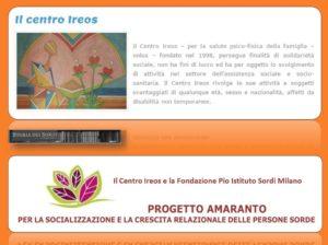 progetto-amaranto-ireos-e-pio-istituto-sordi-milano
