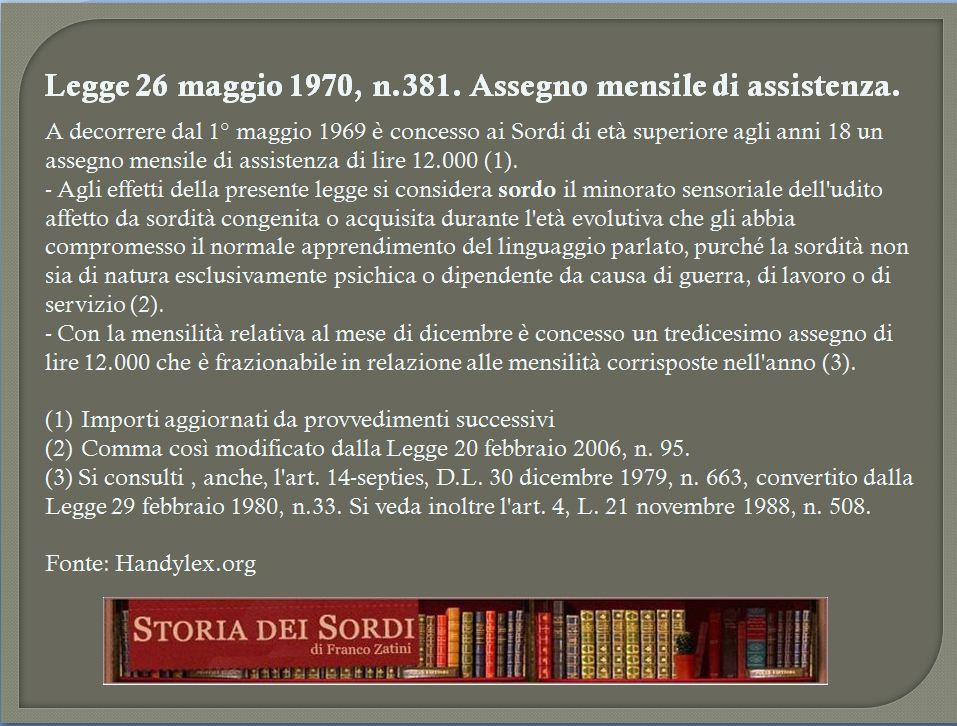 Legge 381-70