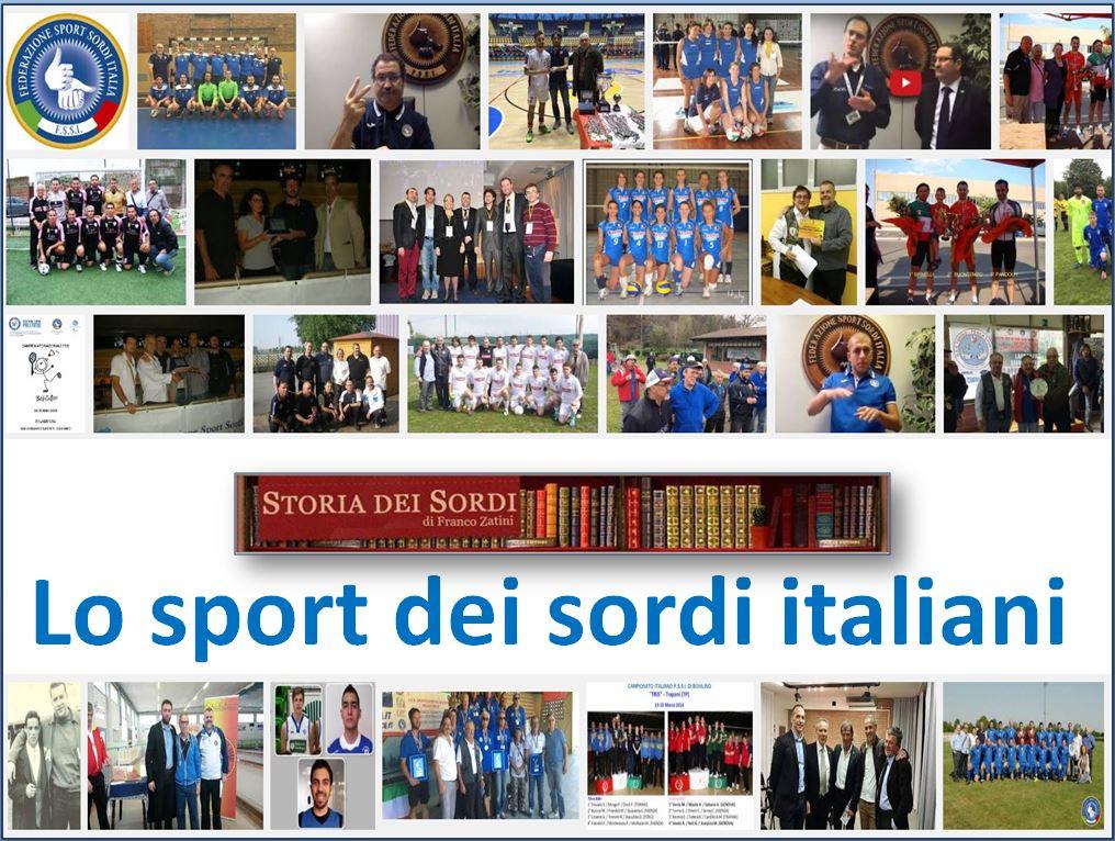 Lo sport dei sordi italiani