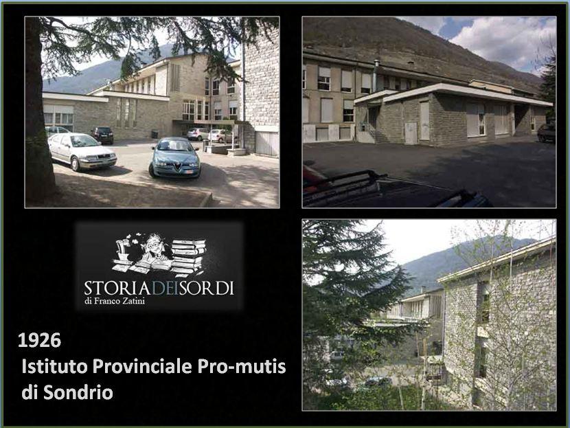 1926 Istituto Pro Mutis Sondrio