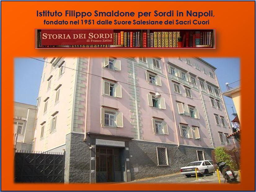 1951 Istituto Smaldone Sordi di Napoli