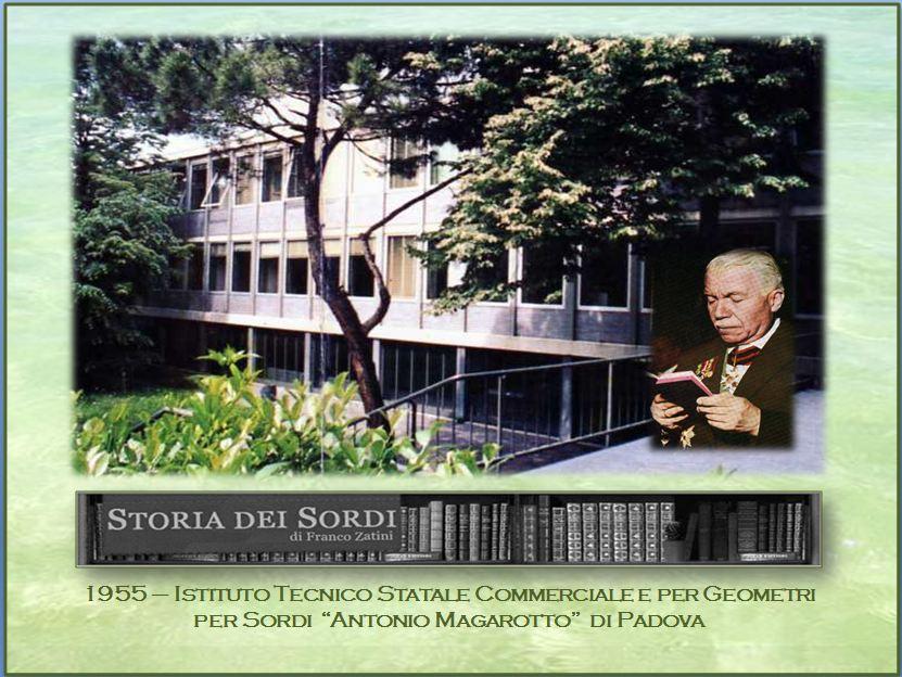 1955 Istituto Magarotto Geometri Ragionieri Padova