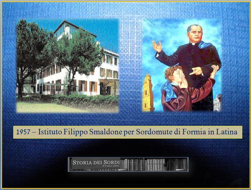 1957 Istituto Smaldone Formia