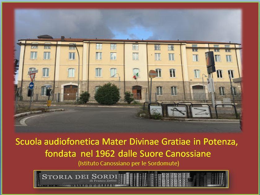 1962 Istituto Canossiano Sordomute di Potenza
