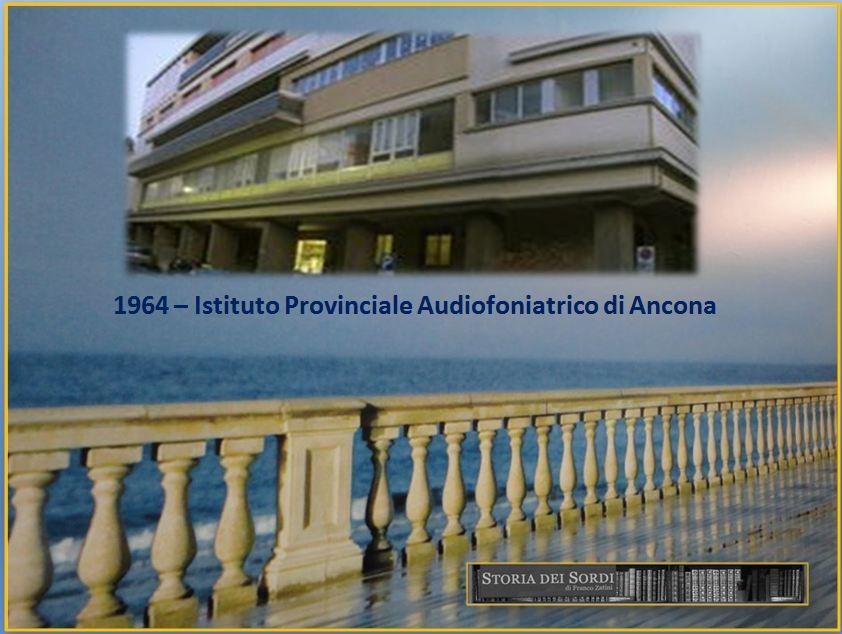1964 Istituto Audiofoniatrico Ancona