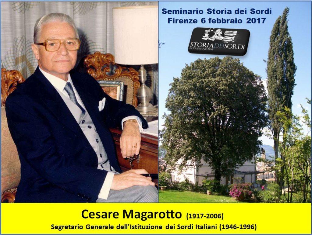 Cesare Magarotto storia dei sordi