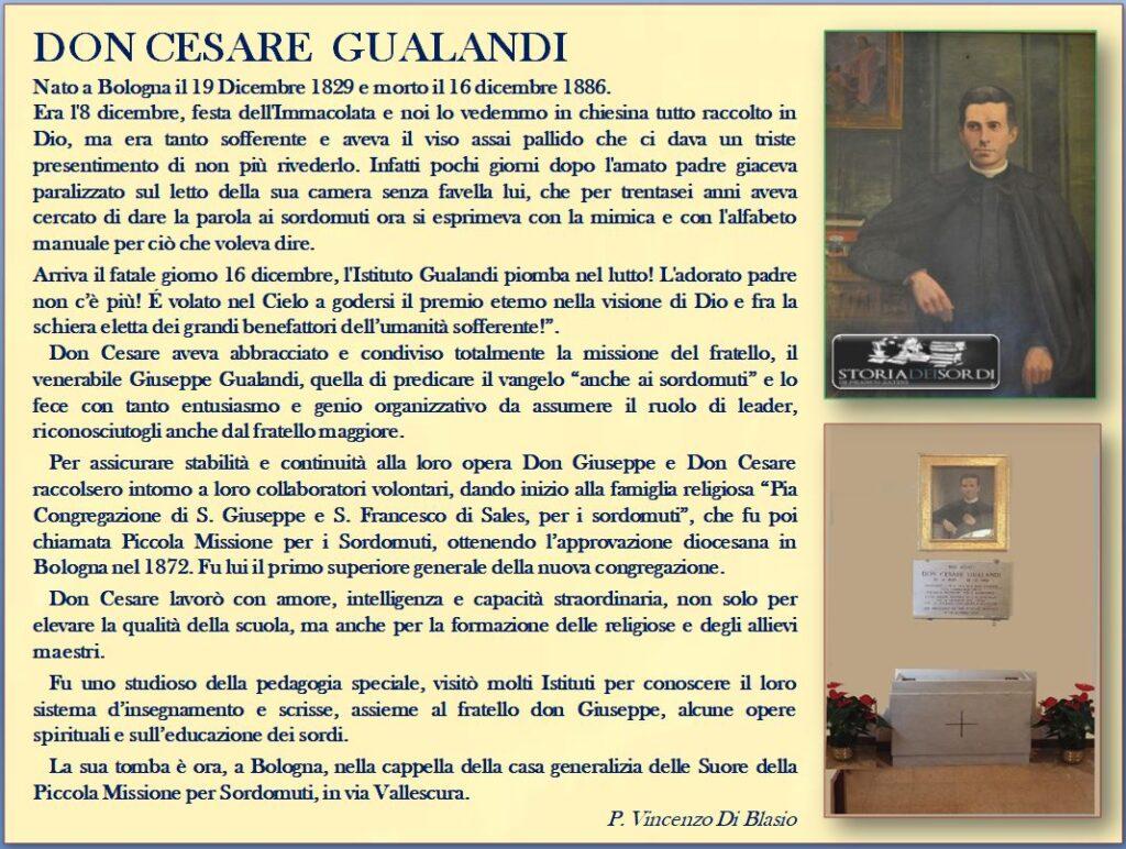 Don Cesare Gualandi 1829-1886