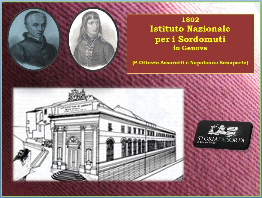 1802 Istituto Nazionale Sordomuti Genova