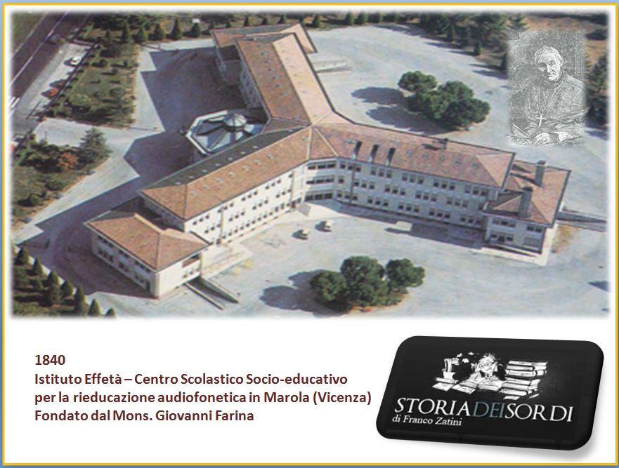 1840 Istituto Effetà Vicenza