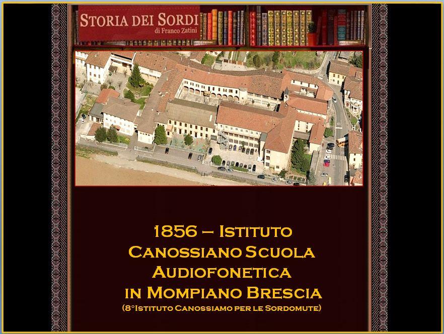 1856 Istituto Canossiano Sordomute Mompiano Brescia