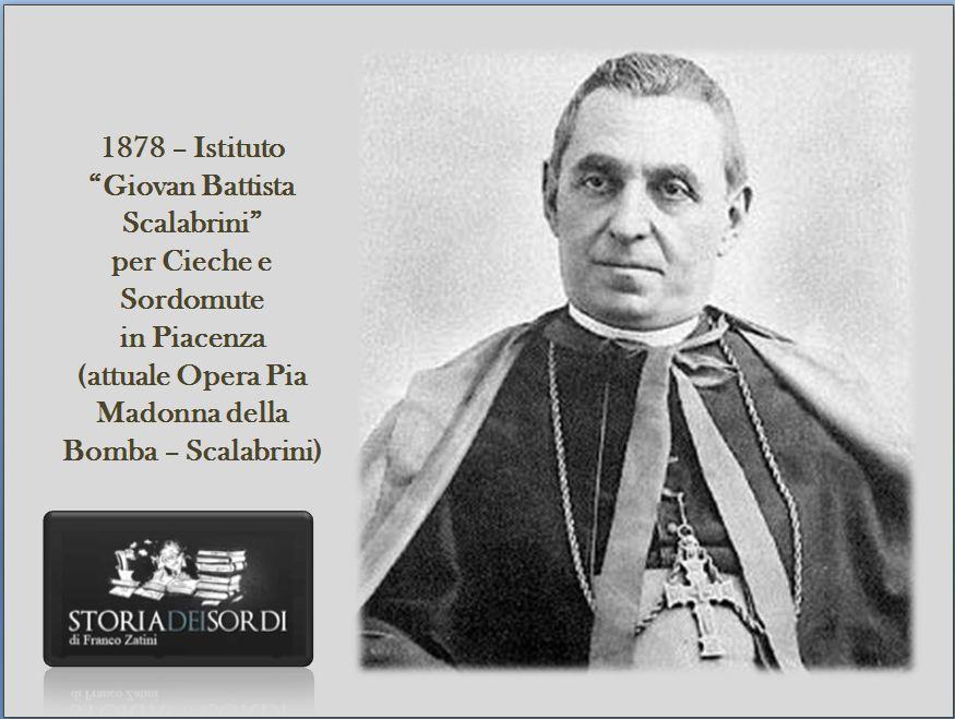 1878 Istituto Scalabrini per sordomute cieche Piacenza