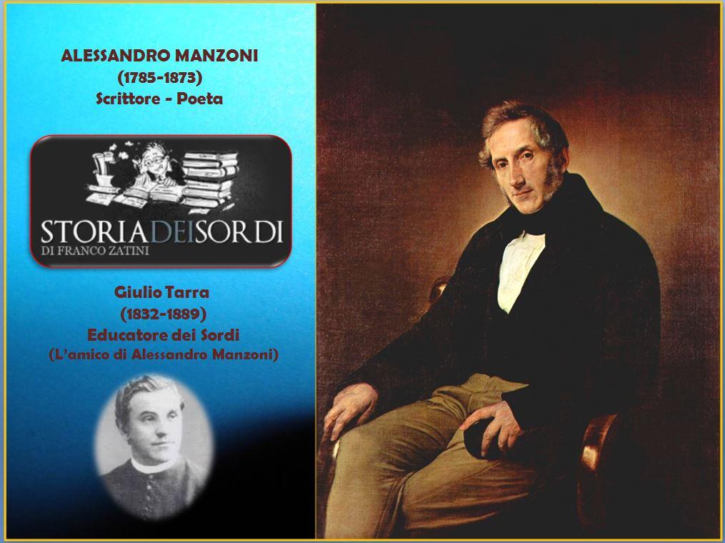 Alessandro Manzoni e Giulio Tarra