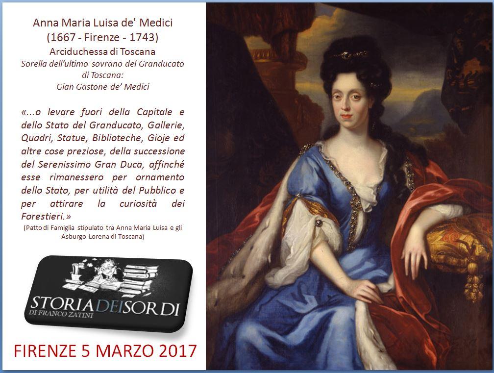 Anna Maria Luisa de' Medici 1667-1743
