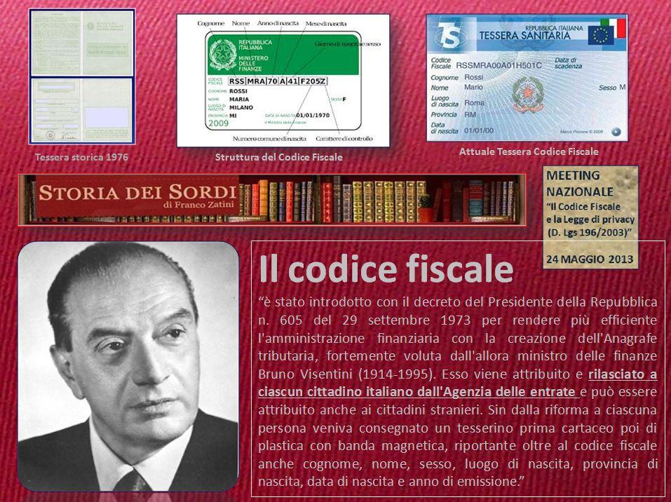 Codice Fiscale 1