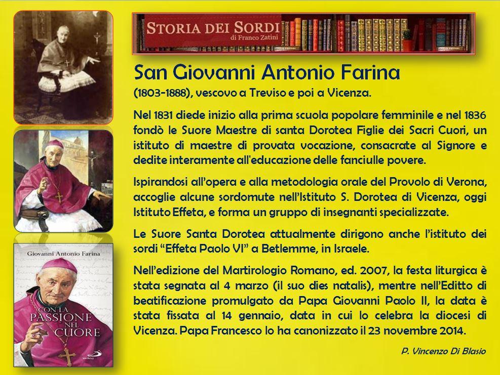 Farina Giovanni Antonio (Santo)