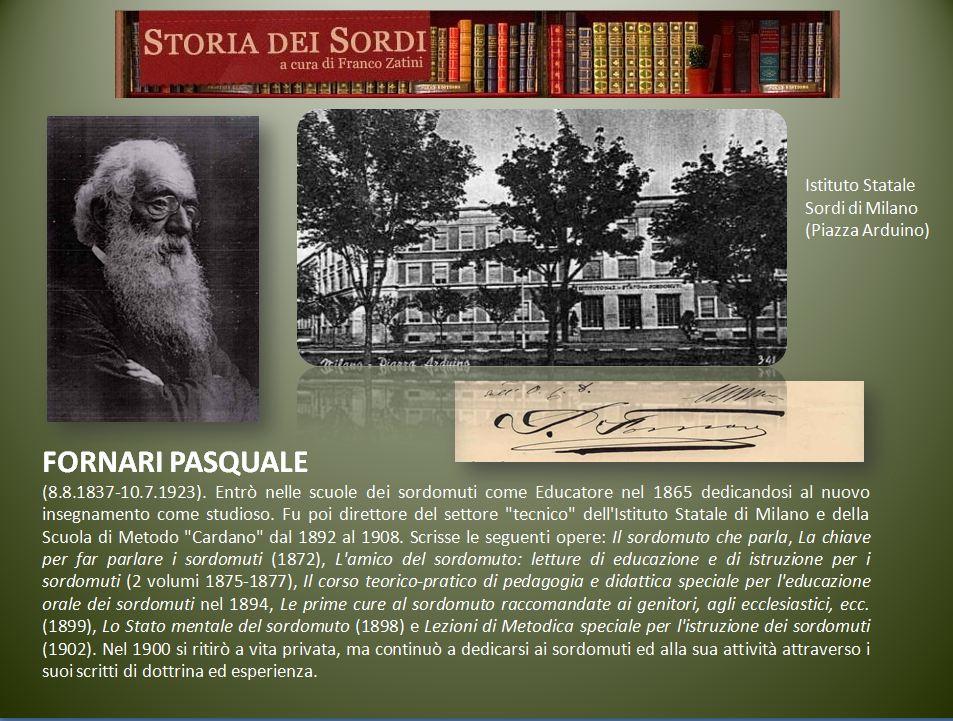Fornari Pasquale.