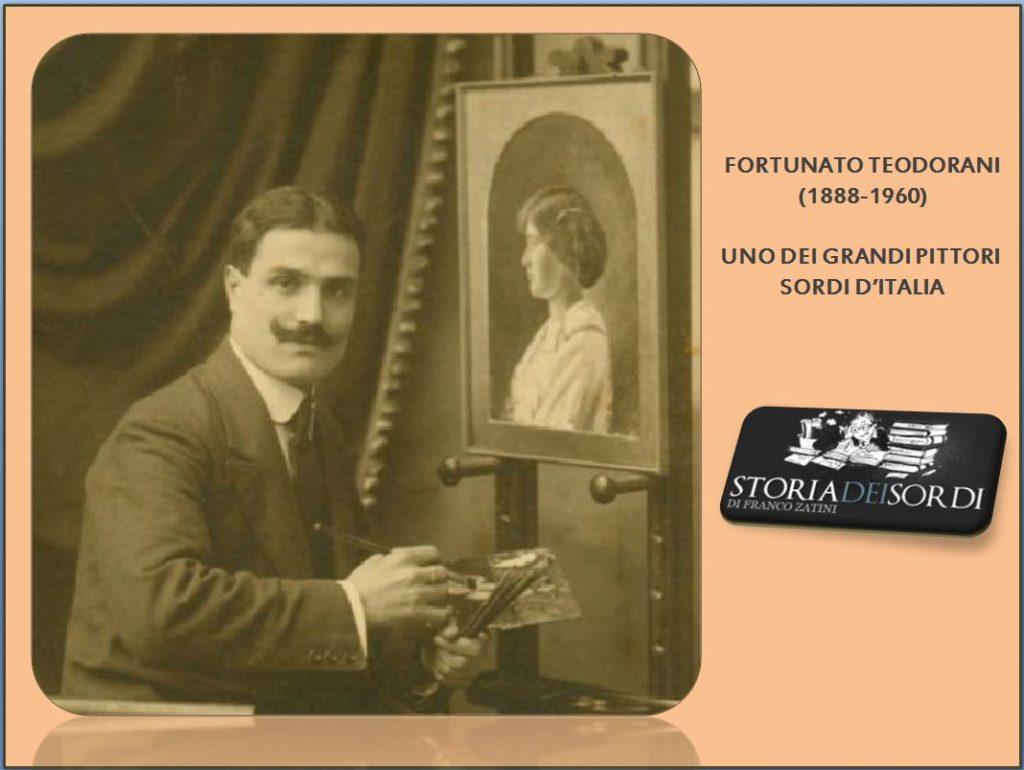 Fortunato Teodorani 1888 - 1960 Storia dei Sordi