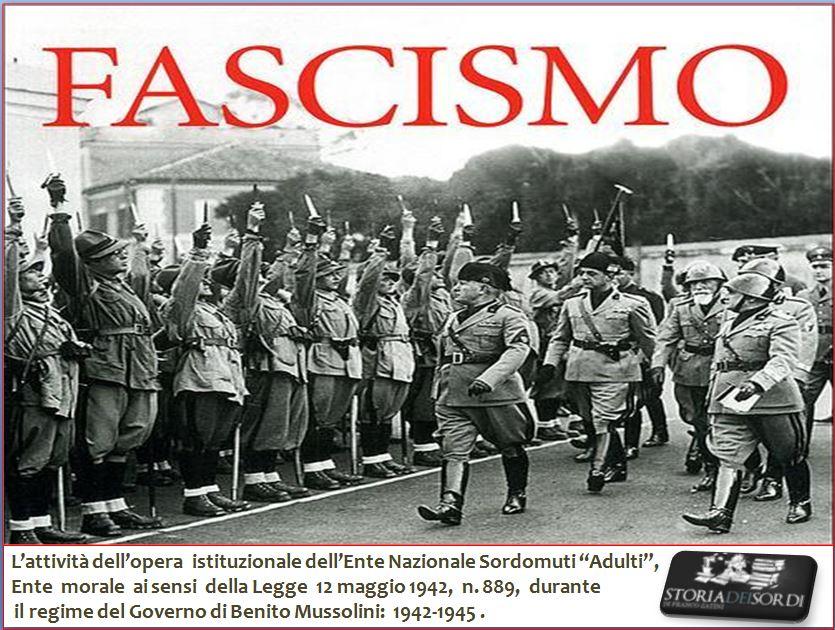 L'Ens e il regime fascista
