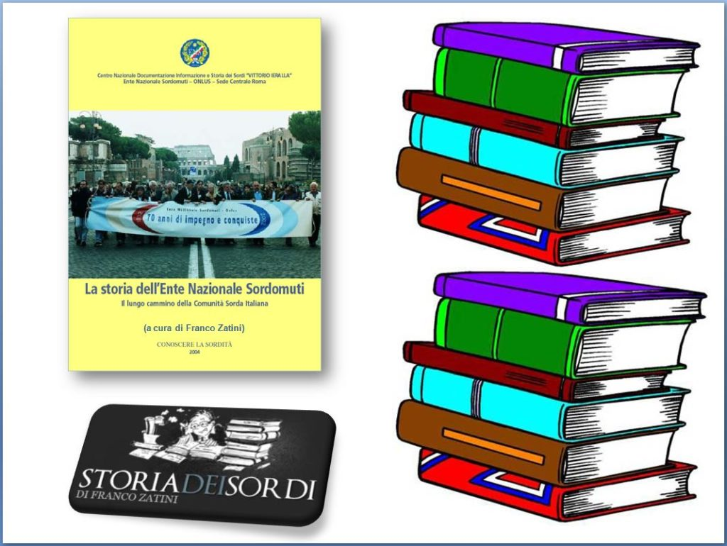 La storia dell'Ente Nazionale Sordi libro